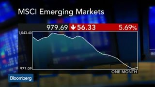 What's Behind the Selloff in Emerging Market Stocks?