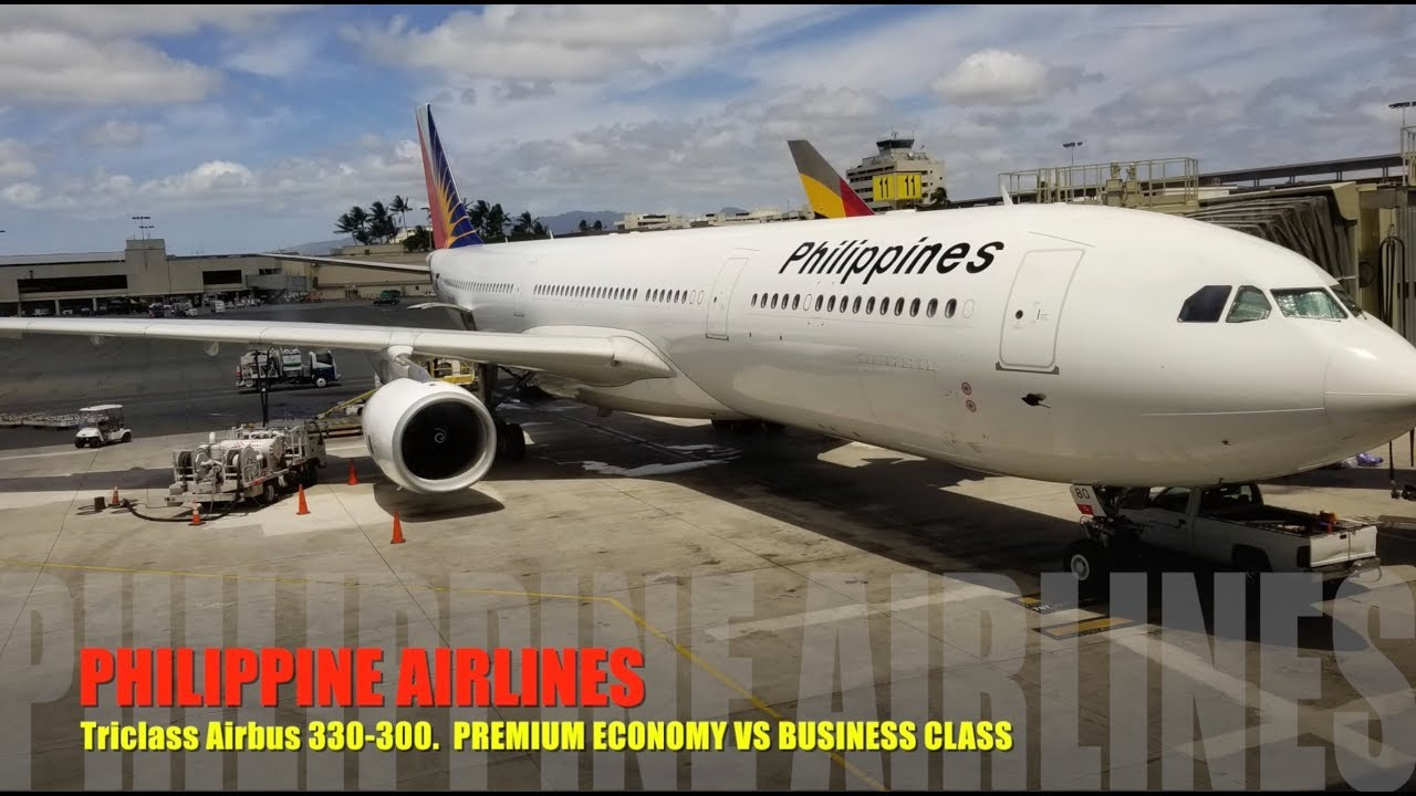 Philippine Airlines Premium Economy Vs Business Class Youtube