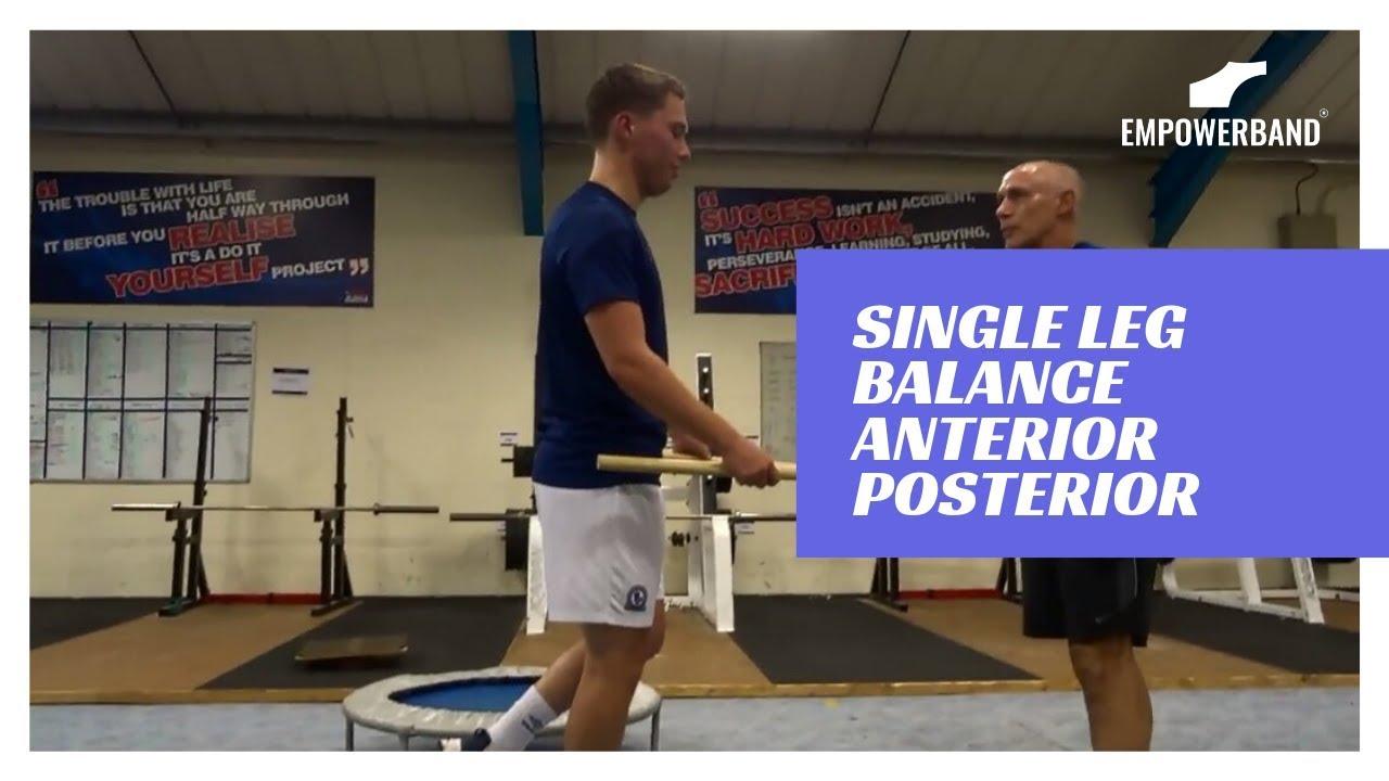 Ankle Strengthening Exercises For Football Players ; Single Leg Balance