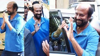 Omg Thalaivar Rajnikanth's Super Humble Attitude  While Shooting for Upcoming Film In Mumbai