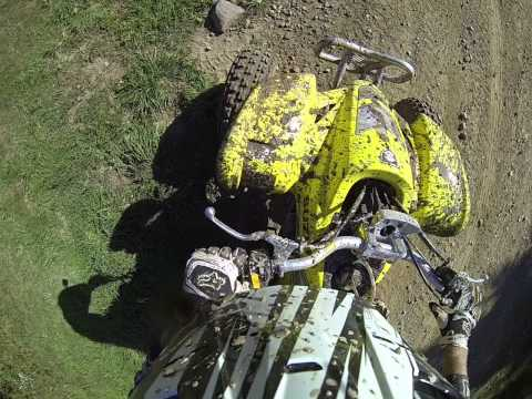 Riding at Tall Pines Z400 having FCR Carb Issues