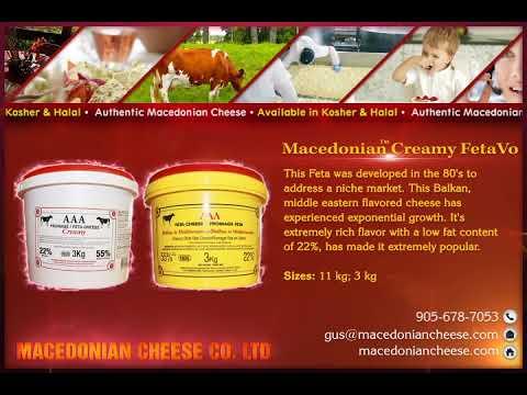 Macedonian Cheese Co | Macedonian Creamy FetaVo | manufacturer &  wholesaler | Toronto, Canada