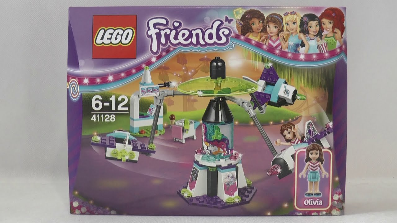 Lego Friends 41128 Kosmiczna Karuzela W Parku Rozrywki Youtube