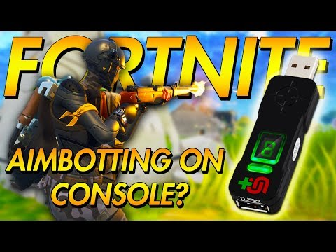 FORTNITE AIMBOT ON CONSOLE? CRONUSMAX OVERVIEW