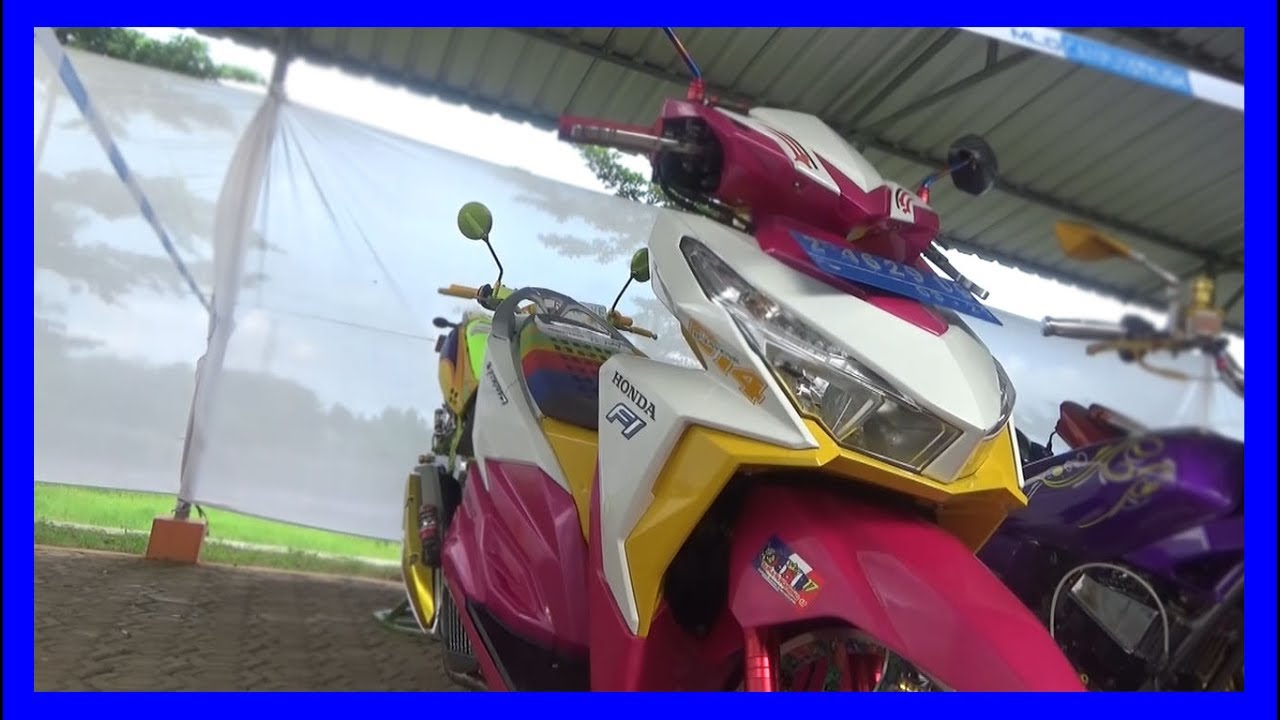 Modifikasi Vario 150 Thailook Kumpulan Modifikasi Motor Vario