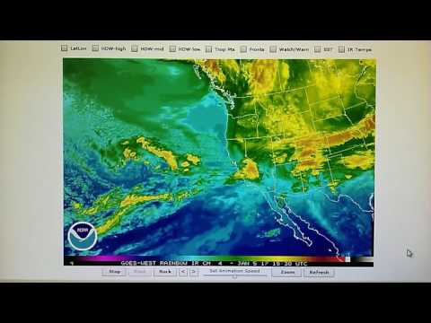 1-5-2017; 3000 Mile Transmitter Generated Blockade; Tropical Flow Shut Off Heading Into CA