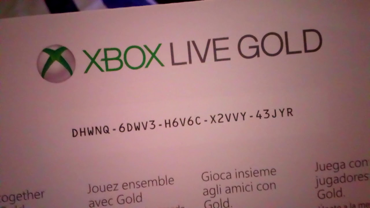 xbox live one month gold free trial