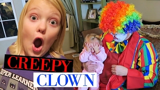 CREEPY CLOWN KIDNAPS BABY!!