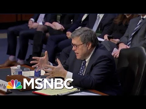 Watch Cory Booker Tell Trump AG Bill Barr To Resign Now   The Beat With Ari Melber   MSNBC