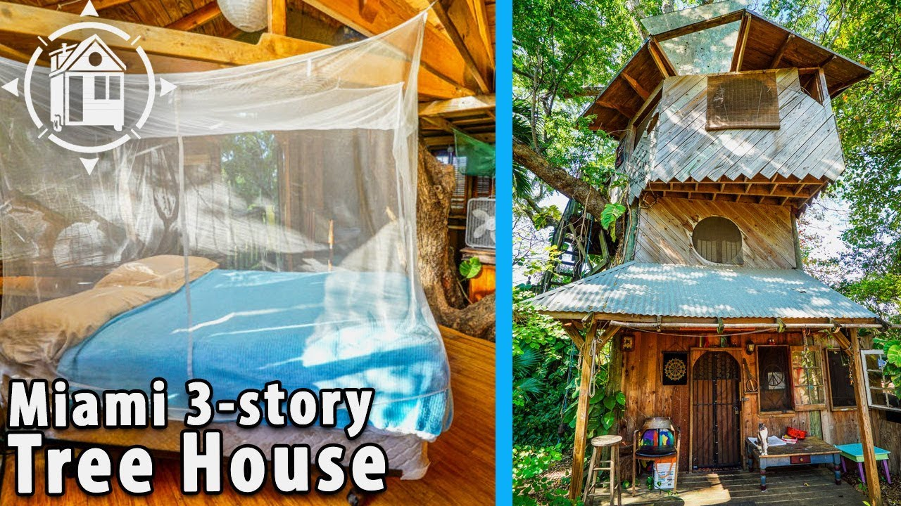 Fantastic diy tree house on permaculture farm in florida youtube fantastic diy tree house on permaculture farm in florida solutioingenieria Image collections