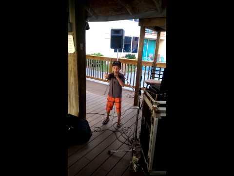 Luke Bryan's #1 Fan Rocking Country Girl Karaoke...Lil Luke!!