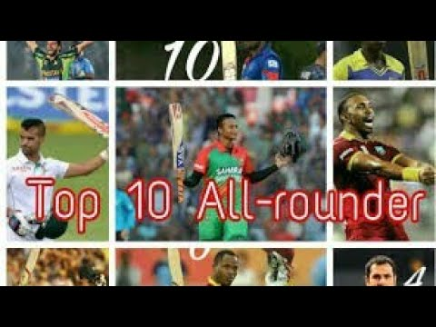 TOP 10 ALL ROUNDERS IN CRICKET HISTORY  STAR GAMER