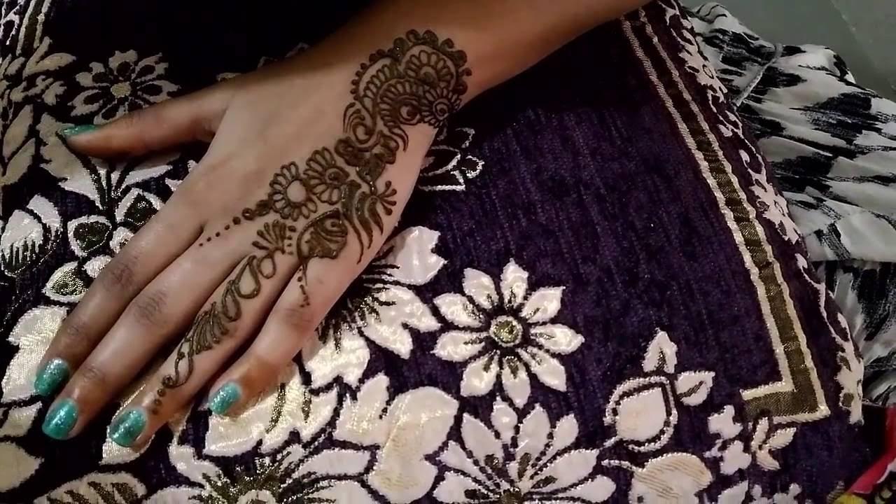 Henna Design 2 By Divya Makwana Youtube