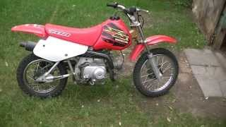 2000 Honda xr70r review