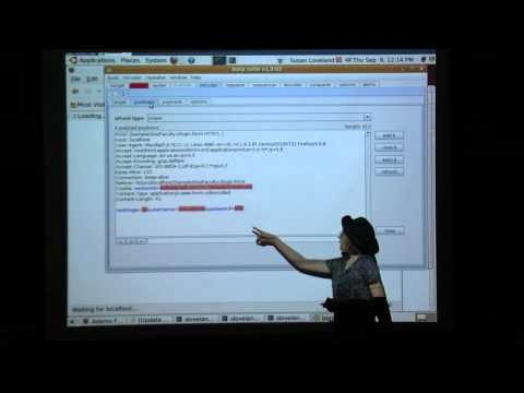 How to Hack a Web Site - Dr. Susan Loveland - Lunchtime Talk