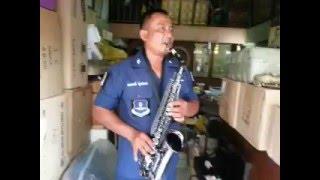 Suzuki alto-sax ดำเงา