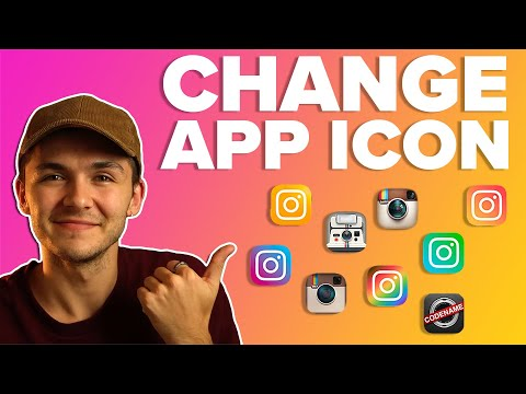 How to Change Instagram App Icon Logo – 10th Year Anniversary