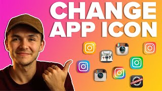 How to Change Instagram App Icon Logo - 10th Year Anniversary