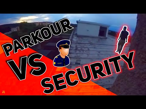 Parkour Vs Security Real Chase Situation!| NivekTube [German/HD]