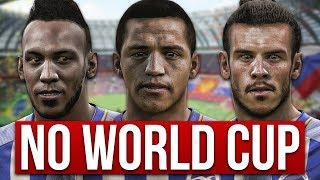 CAN A TEAM OF PLAYERS MISSING THE 2018 WORLD CUP WIN THE PREMIER LEAGUE? FIFA 18 EXPERIMENT