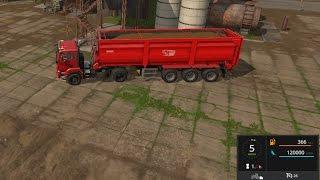 farming simulator 2017 120 tonluk kasa modu - fs 2017 mod