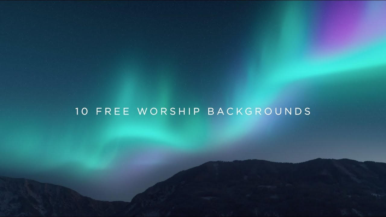 Free Backrounds 10 free worship backgrounds [free download] | igniter media | church media