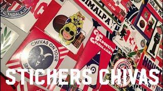 STICKERS DE CHIVAS - PEGANDO CALCAS EN CDMX #CHIVASIEMPRENRUSIA