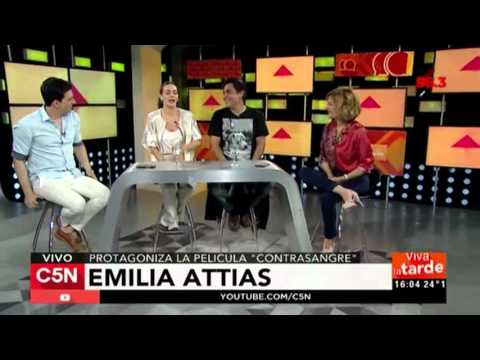 C5N - Viva la Tarde: La visita de Juan Palomino y Emilia Attias