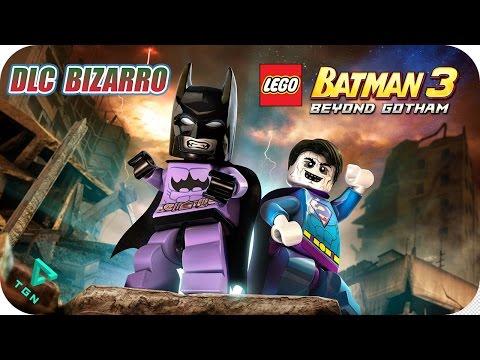 LEGO Batman 3 - DLC Bizarro - Gameplay Español - 1080p HD