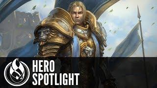 Anduin Spotlight - Heroes of the Storm New Hero