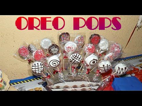 Oreo pops tutorial mesa de dulces para fiestas - Mesa dulce infantil ...