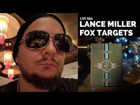 Lance T. Miller LIVE (FOX TARGETS Q&A)
