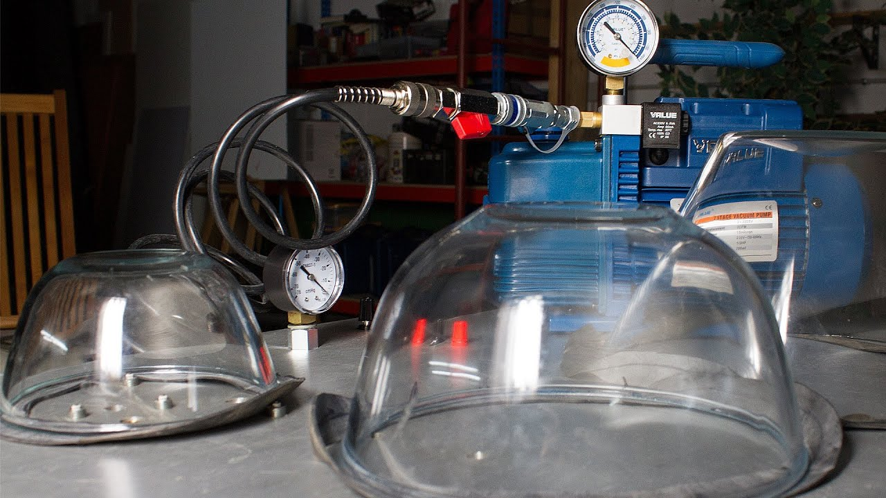 How To Make A Lab Vacuum Chamber Youtube