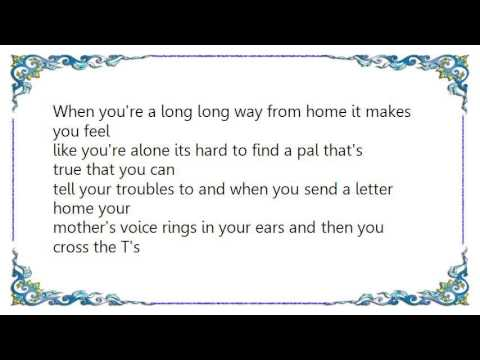 Kay Starr - When You're a Long Long Way from Home Lyrics mp3