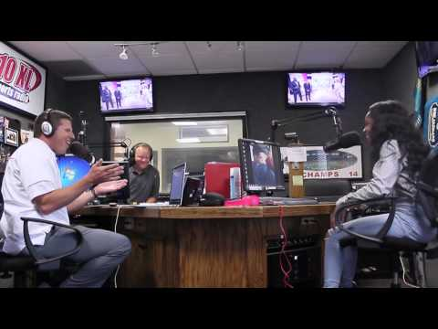 1010 XL 92.5 Sports Radio Interview with Miss Ribault