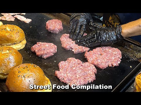 Street Food Fantasic Compilation – Around the World Ep19