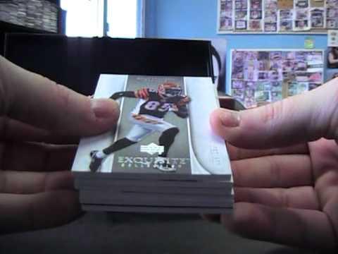 Tom's 2006 Exquisite Football 3 Box Case Break