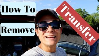 Car Paint Transfer Removal: What is it & How to fix it!