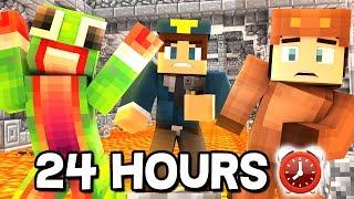 ⏰ 24 HOUR MINECRAFT CHALLENGE! - DAY 1 ⏰ (Minecraft Trolling) W/ MooseCraft & UnspeakableGaming