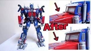 【改修について】トランスフォーマー MPM-4 オプティマスプライム マスターピース ヲタファのアドバイス /  【Fix】Transformers MPM-4 Optimus Prime