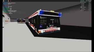 ROBLOX Buses: TTC Feeder Buses at York Mills Stn with Ride