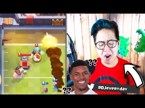 OJ POSITIVE ELIXIR TRADE! (+Hilarious Moan 😂) | Clash Royale Funny Moments Of The Week #11