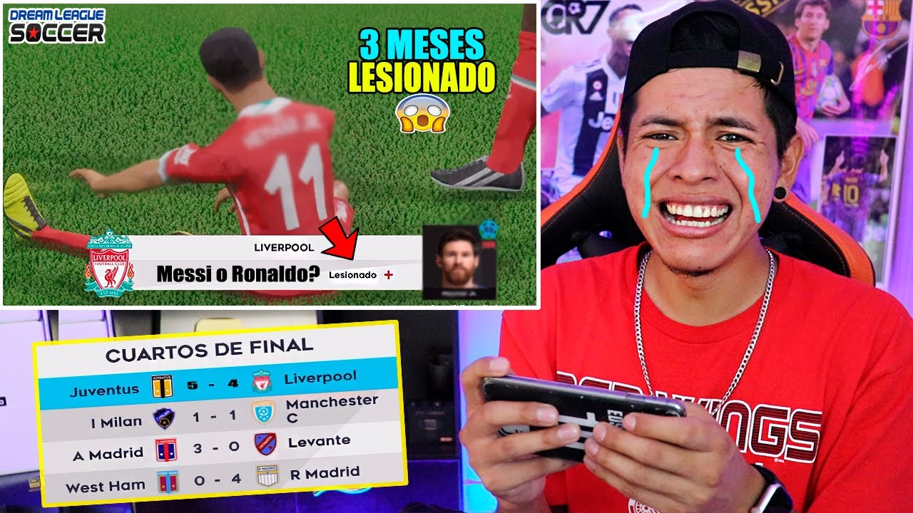 Se ha LESIONADO 😭 *Mi jugador Favorito*  Dream League Soccer 2021