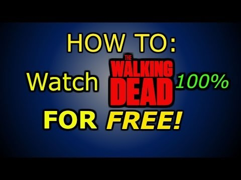 HOW TO: Watch THE WALKING DEAD FOR FREE! (Watch!)