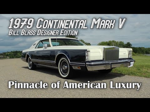 1979 Continental Mark V - The Pinnacle of American Luxury