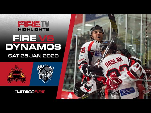Cardiff Fire v Invicta Dynamos 25/01/20