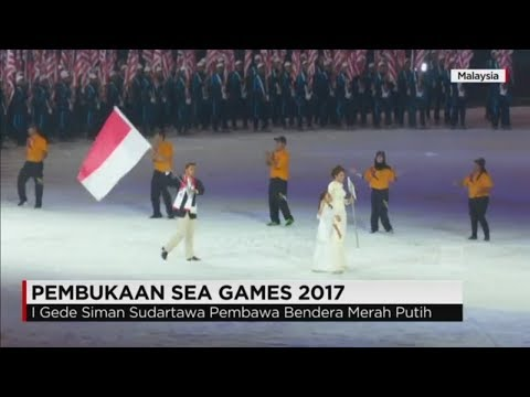 Indonesia di Pembukaan Sea Games 2017