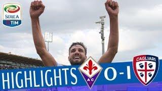 Fiorentina - Cagliari 0-1 - Highlights - Giornata 37 - Serie A TIM 2017/18