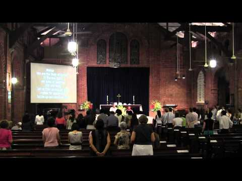 Confirmation service 18th May 2012 - St George's Church, Singapore