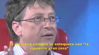 Steve Jobs se pone emocional con Bill Gates - Subtitulado.